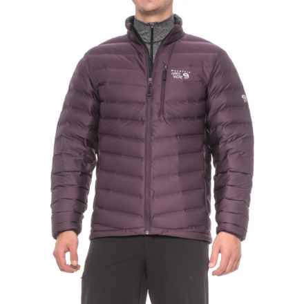 Mountain Hardwear StretchDown Q.Shield® Jacket - 750 Fill Power (For Men) in Eggplant - Closeouts