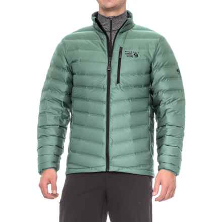 Mountain Hardwear StretchDown Q.Shield® Jacket - 750 Fill Power (For Men) in Thunderhead Grey - Closeouts