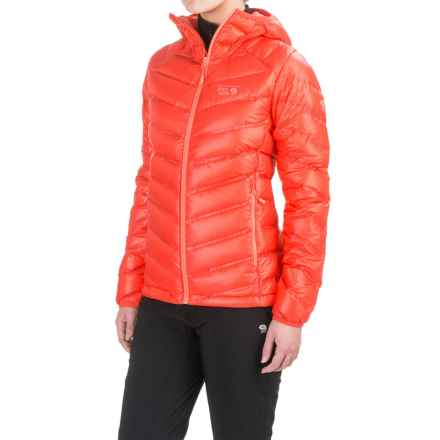 Mountain Hardwear Stretchdown RS Down Jacket - 750 Fill Power (For Women) in Scarlet Red - Closeouts