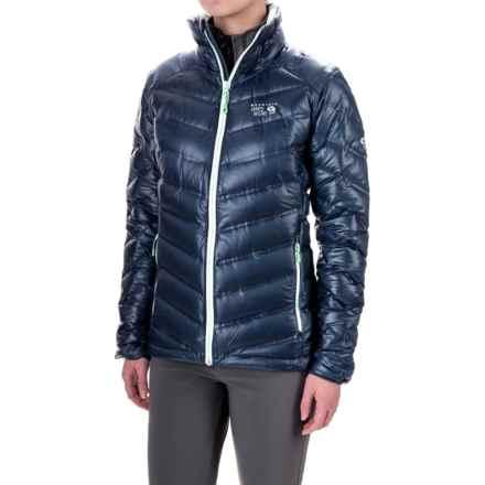 Mountain Hardwear StretchDown RS Down Jacket - 750 Fill Power (For Women) in Zinc - Closeouts