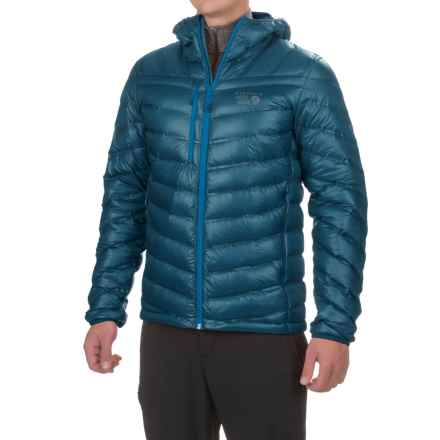 Mountain Hardwear StretchDown RS Hooded Jacket - 750 Fill Power, Full Zip (For Men) in Phoenix Blue - Closeouts