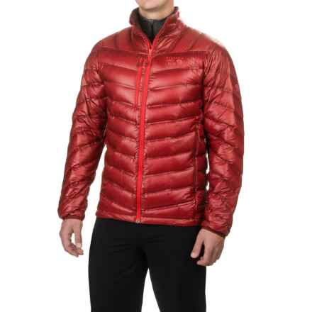 Mountain Hardwear Stretchdown RS Jacket - 750 Fill Power (For Men) in Smolder Red - Closeouts