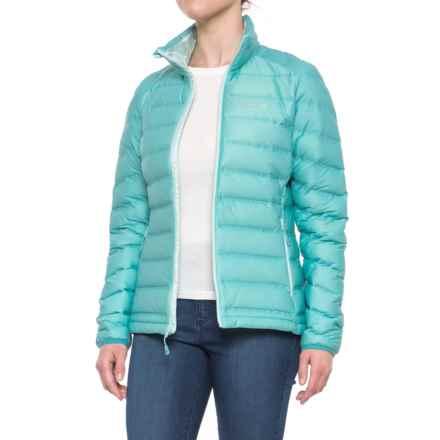 Mountain Hardwear StretchDown? Down Jacket - 750 Fill Power (For Women) in Spruce Blue - Closeouts