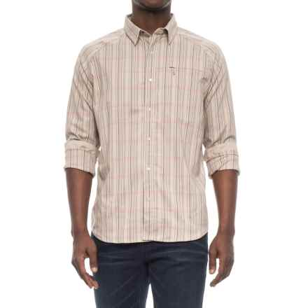 Mountain Hardwear Stretchstone V Shirt - Long Sleeve (For Men) in Cotton - Closeouts