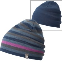 Mountain Hardwear Stripes Dome Beanie - Reversible (For Men and Women) in Zinc - Closeouts