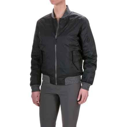 Mountain Hardwear StudioGrand Bomber Down Jacket - 600 Fill Power (For Women) in Black - Closeouts