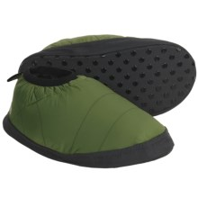 Mountain Hardwear Sub Zero Down Moccasins - 550 Fill Power (For Men) in Jungle - Closeouts