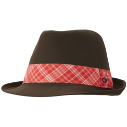 Mountain Hardwear Sun Fedora Hat - UPF 50 (For Women) in Cordovan