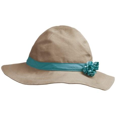 Mountain Hardwear Sun Floppy Canvas Hat - UPF 50 (For Women) in Cordovan