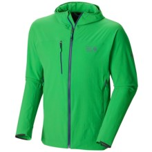 Mountain Hardwear Super Chockstone Jacket - UPF 50 (For Men) in Fuse Green - Closeouts