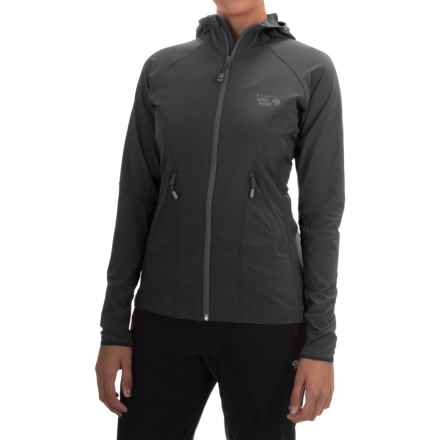 Mountain Hardwear Super Chockstone Jacket - UPF 50 (For Women) in Black - Closeouts