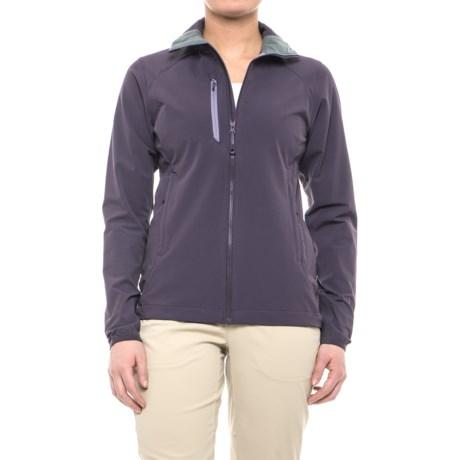 Mountain Hardwear Super Chockstone Jacket - UPF 50 (For Women) in Blurple