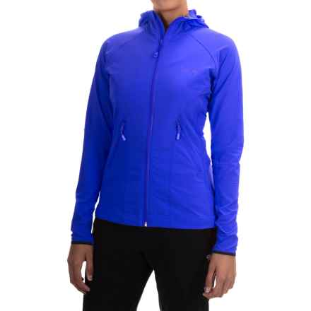 Mountain Hardwear Super Chockstone Jacket - UPF 50 (For Women) in Bright Island Blue - Closeouts