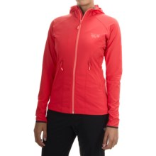 Mountain Hardwear Super Chockstone Jacket - UPF 50 (For Women) in Red Hibiscus/Paradise Pink - Closeouts