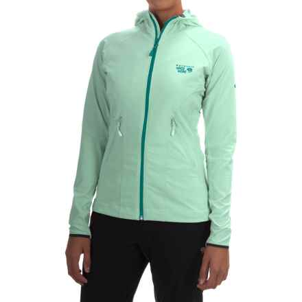Mountain Hardwear Super Chockstone Jacket - UPF 50 (For Women) in Sea Ice - Closeouts