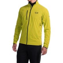 Mountain Hardwear Super Chockstone Jacket - UPF 50, Full Zip (For Men) in Ginkgo - Closeouts