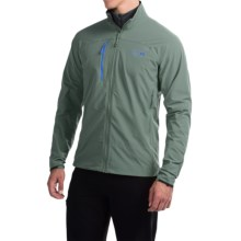Mountain Hardwear Super Chockstone Jacket - UPF 50, Full Zip (For Men) in Inca Gold - Closeouts