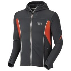 Mountain Hardwear Super Power Jacket (For Men) in Black/Grill