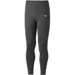 Mountain Hardwear Super Power Tights (For Men) in Black/Static Blue