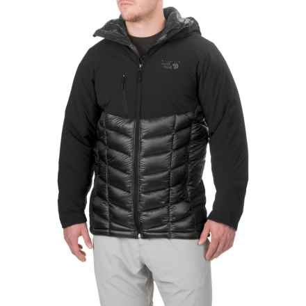 Mountain Hardwear Supercharger Dry.Q® Elite Jacket - Waterproof, Insulated (For Men) in Black - Closeouts