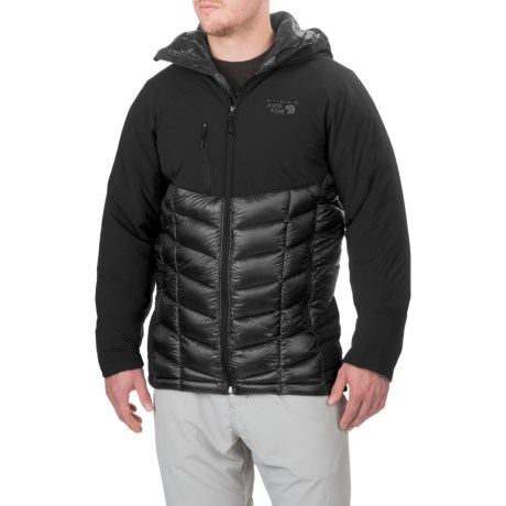 Mountain Hardwear Supercharger Dry.Q® Elite Jacket - Waterproof, Insulated (For Men) in Black