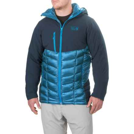Mountain Hardwear Supercharger Dry.Q® Elite Jacket - Waterproof, Insulated (For Men) in Dark Compass/Hardwear Navy - Closeouts