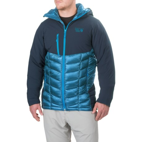 Mountain Hardwear Supercharger Dry.Q® Elite Jacket - Waterproof, Insulated (For Men) in Dark Compass/Hardwear Navy