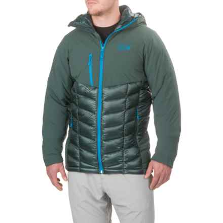 Mountain Hardwear Supercharger Dry.Q® Elite Jacket - Waterproof, Insulated (For Men) in Dark Forest - Closeouts