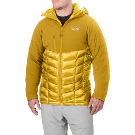 Mountain Hardwear Supercharger Dry.Q® Elite Jacket - Waterproof, Insulated (For Men) in Electron Yellow - Closeouts