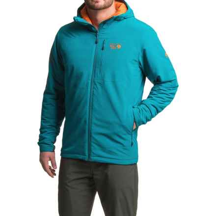 Mountain Hardwear Superconductor Hooded Jacket - Insulated (For Men) in Phoenix Blue - Closeouts