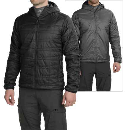 Mountain Hardwear Switch Flip Hooded Jacket - Reversible, Insulated (For Men) in Black - Closeouts