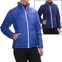 Mountain Hardwear Switch Flip Jacket - Insulated, Reversible (For Women) in Bright Bluet/Dynasty - Closeouts