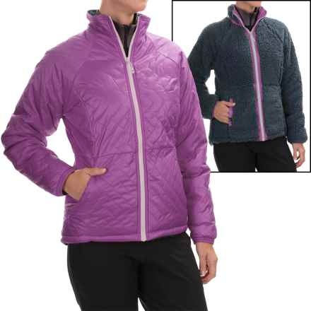 Mountain Hardwear Switch Flip Jacket - Insulated, Reversible (For Women) in Northern Lights/Zinc - Closeouts