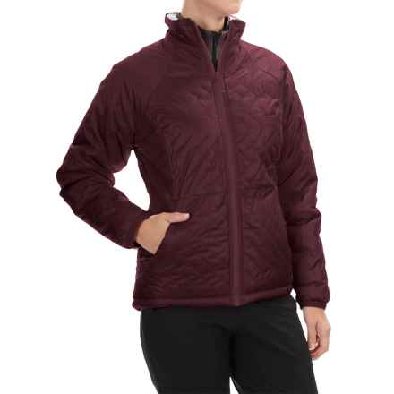 Mountain Hardwear Switch Flip Jacket - Insulated, Reversible (For Women) in Purple Plum/Stone - Closeouts