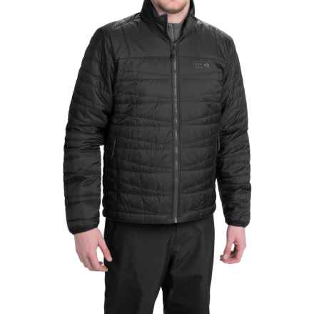 Mountain Hardwear Switch Flip Reversible Jacket - Insulated (For Men) in Black - Closeouts