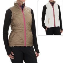 Mountain Hardwear Switch Flip Reversible Vest (For Women) in Khaki/Stone - Closeouts