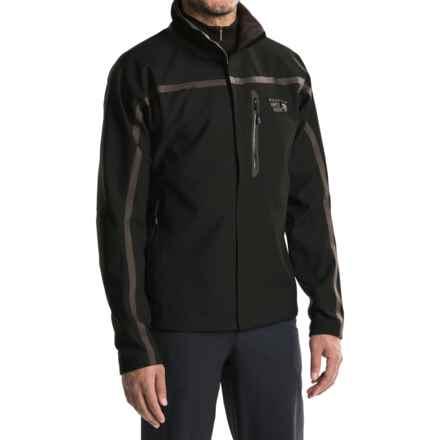 Mountain Hardwear Synchro Jacket (For Men) in Black - Closeouts