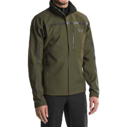 Mountain Hardwear Synchro Jacket (For Men) in Peatmoss - Closeouts