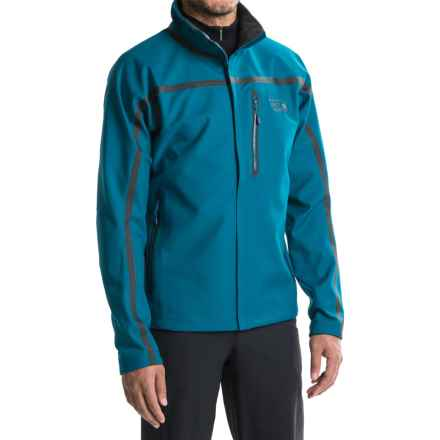 Mountain Hardwear Synchro Jacket (For Men) in Phoenix Blue - Closeouts