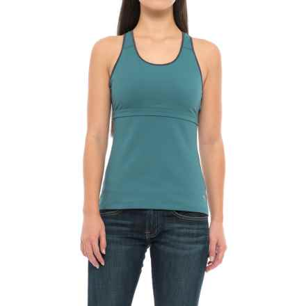 Mountain Hardwear Synergist Tank Top - UPF 50, Built-In Shelf Bra, Racerback (For Women) in Cloudburst - Closeouts