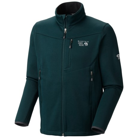 Mountain Hardwear Tacna Soft Shell Jacket (For Men) in Sherwood