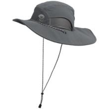 Mountain Hardwear Talus Sun Hat - UPF 50 (For Men) in Graphite - Closeouts