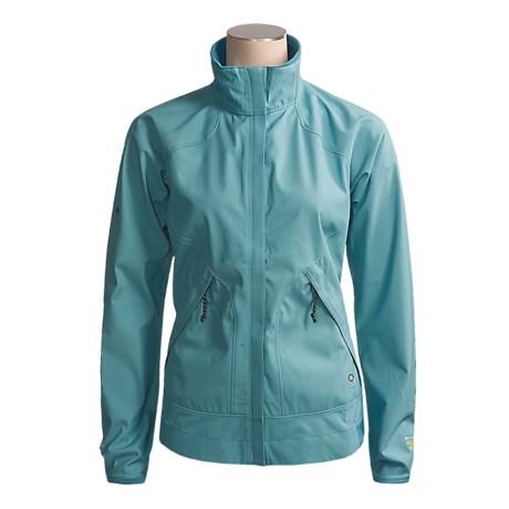 Mountain Hardwear Tempo Jacket - Windstopper® (For Women) in Blue River/Polar Blue