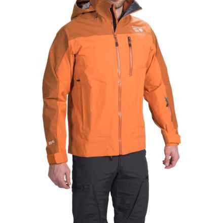 Mountain Hardwear Tenacity Pro 2 Ski Jacket - Waterproof (For Men) in Light Orange/Dark Orange - Closeouts