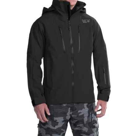 Mountain Hardwear Tenacity Pro Dry.Q® Elite Ski Jacket - Waterproof (For Men) in Black - Closeouts