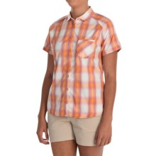 Mountain Hardwear TerraLake Shirt - Button Front, Short Sleeve (For Women) in Navel Orange - Closeouts