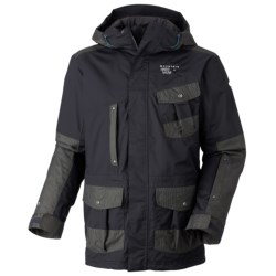 Mountain Hardwear The A'parka'lypse Dry.Q Core Parka - Waterproof, Insulated (For Men) in Elm