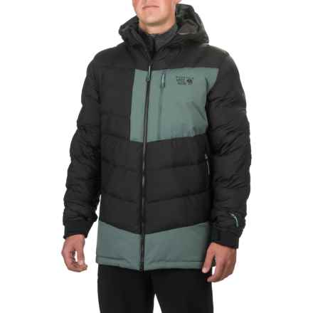 Mountain Hardwear Therminator Hooded Parka - Insulated (For Men) in Black - Closeouts