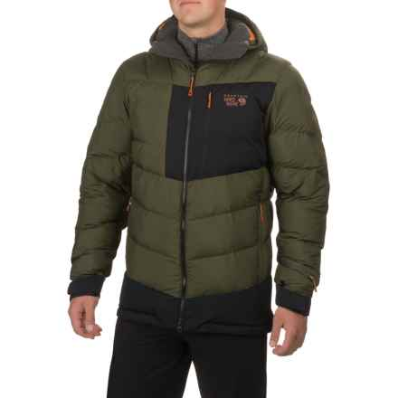Mountain Hardwear Therminator Hooded Parka - Insulated (For Men) in Peatmoss - Closeouts