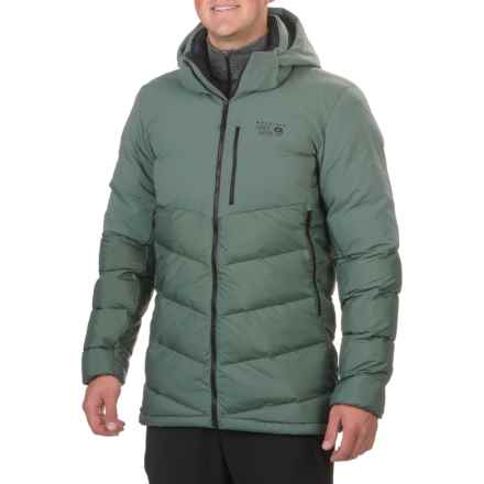 Mountain Hardwear Thermist Jacket - Insulated, Hooded (For Men) in Thunderhead Grey - Closeouts